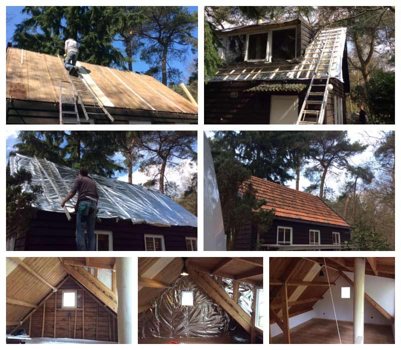 Isoleren dak en zolderruimte