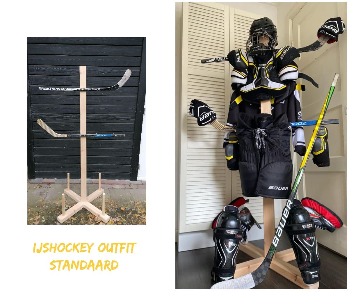 IJshockey outfit standaard